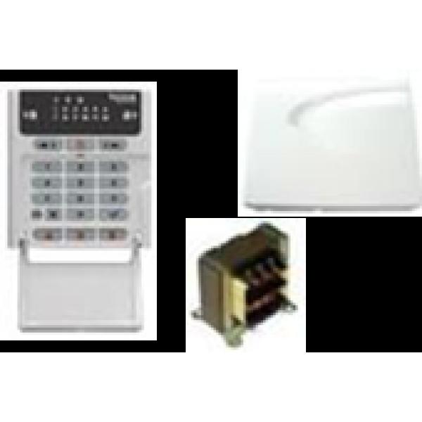 Centrala alarmare , 12 zone de alarma (5x2 zone dublate+ 2 zone de tastatura)