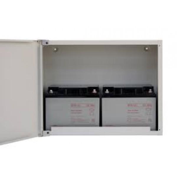 Cabinet acumulatori, dimensiuni: 452x350x209 mm, maxim 2 acumulatori 12V 38Ah