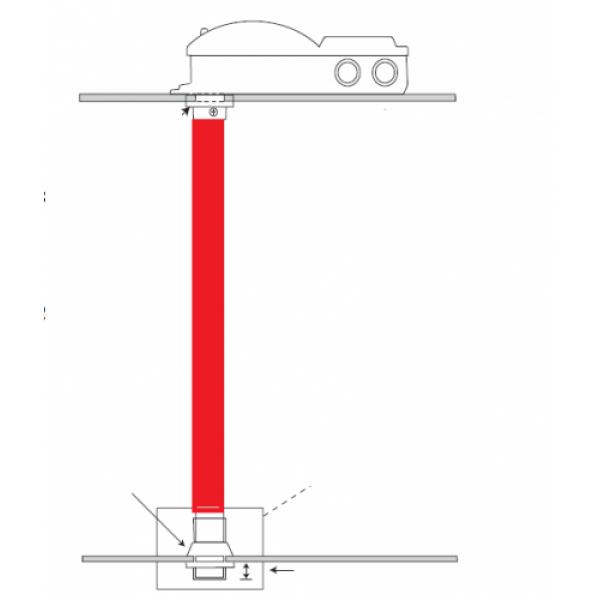 tub de prelevare probe l=600mm, disponibil si in variantele de lungime 1500mm si 2800mm