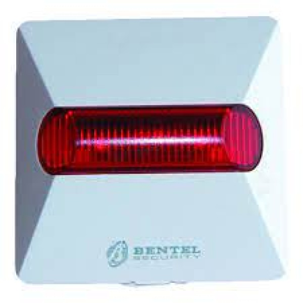 Minilampa incendiu, 2 LED-uri rosii, alimentare 12-24Vdc