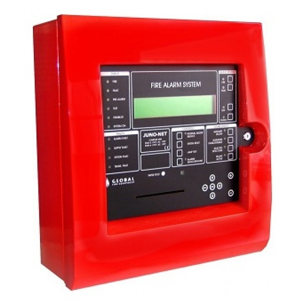 Centrala de detectie incendiu tip J-NET, adresabila, 1 bucla, extensibila la 2 sau 3 bucle