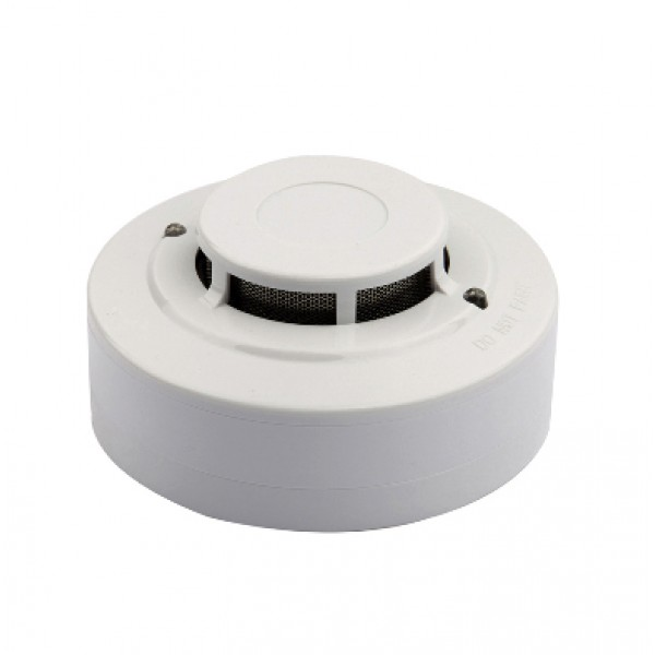Detector analog-adresabil de temperatura, soclu inclus, LED-uri de monitorizare stare locala