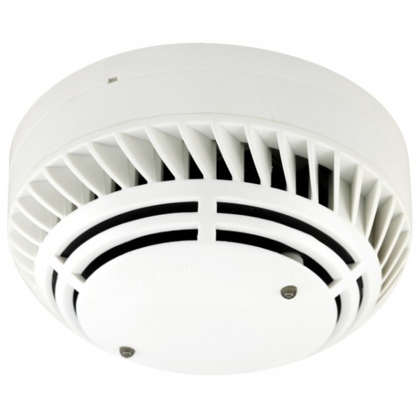 Detector analog-adresabil de fum cu camera optica, LED-uri de monitorizare stare locala