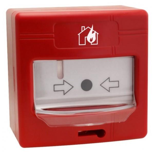 Buton avertizare incendiu adresabil, utilizare in interior