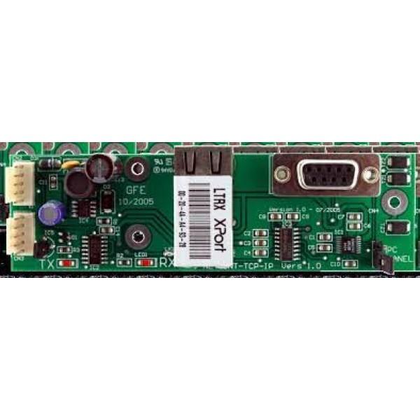Interfata pentru legare centrala cu subpanel sau repetor folosind o retea TCP/IP