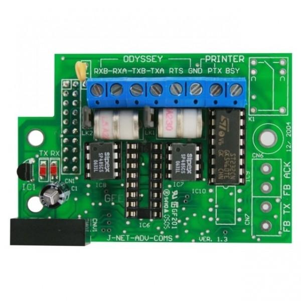 Interfata 485 pentru legare centrala la interfata grafica ODISSEY pe fibra optica
