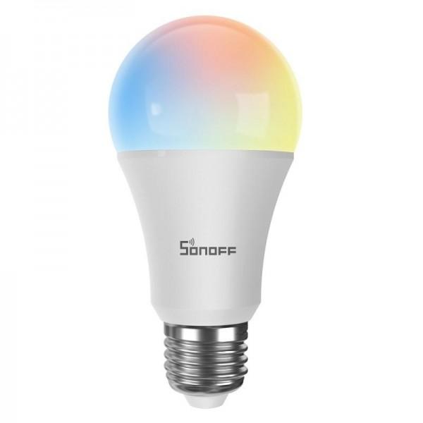 Bec Color cu WiFi IEEE 802.11.B/G/N 2.4 GHz, lumina de culoare ajustabila (rece 6500K sau calda 2700K)