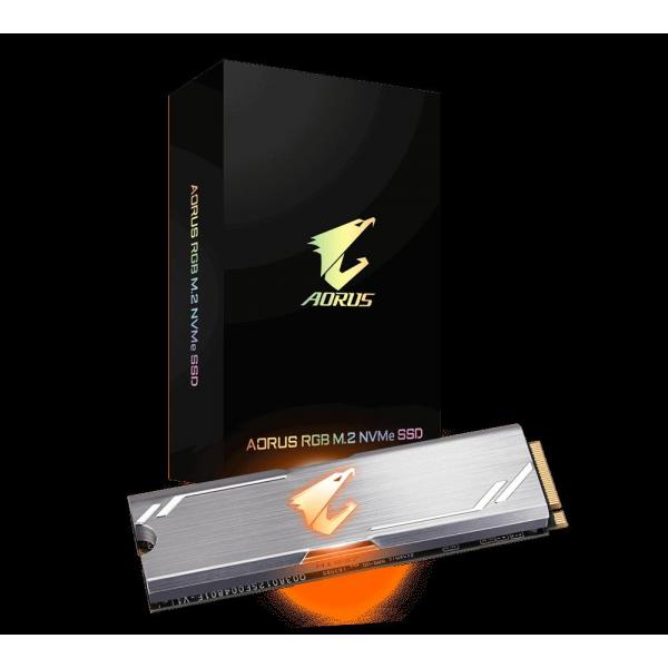 GIGABYTE AORUS RGB SSD M.2 PCIe 512GB