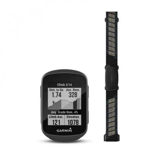 Garmin GPS Bike Computer EDGE 130 Bundle