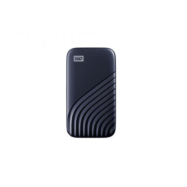 WD EXT SSD 1TB USB 3.2 MY PASS SSD BLUE