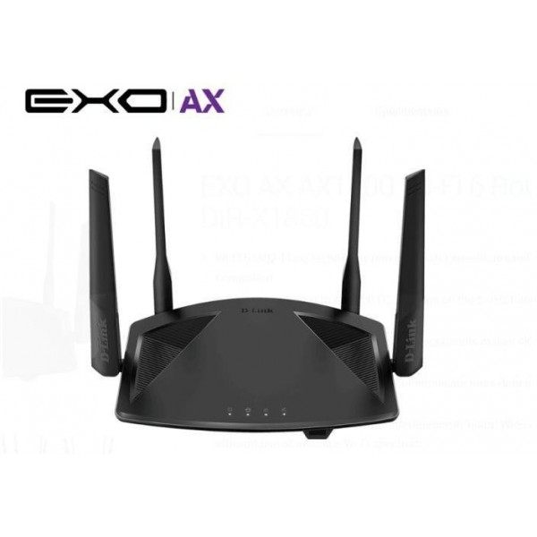 D-LINK ROUTER AX1800 DUAL-B GB WPA3