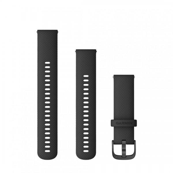 Garmin Curea Ceas 22mm Black/Gunmetal