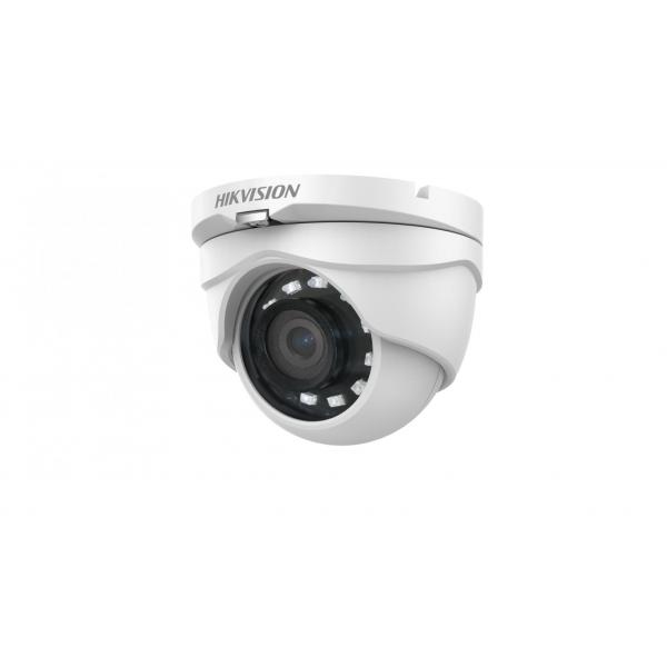 Camera de supraveghere AHD Turret, 2MP, IR 20m, 2.8mm, Hikvision DS-2CE56D0T-IRMF2C
