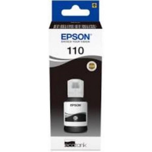 EPSON 110 PIGMENT BLACK INK BOTTLE