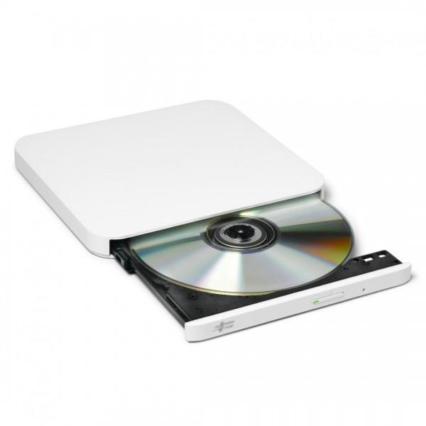 Ultra Slim Portable DVD-R Hitachi-LG Wht