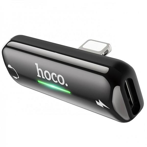 HOCO LS27 Conv aud 2in1 3.5mm+Type-C GY