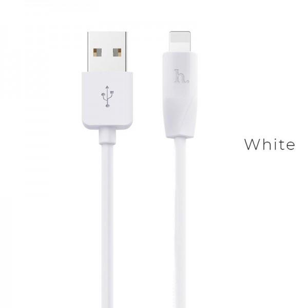 Cablu Lightning Hoco X1 1m WH