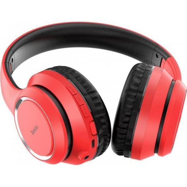 Casti Bluetooth Hoco Rosu