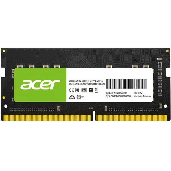 AC DDR4 8GB 3200 SO-DIMM CL22