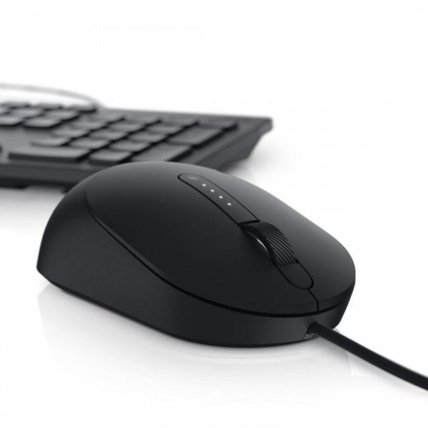 DL MOUSE Laser Wired MS3220 BK