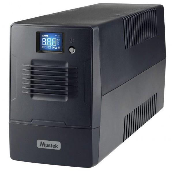 UPS 600VA POWERMUST 600 LCD/360W 600-LCD-LI-T10 MUSTEK