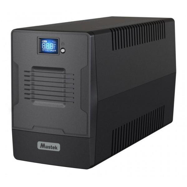 UPS 1500VA POWERMUST 1500/900W 1500-LCD-LI-T30 MUSTEK