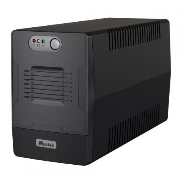 UPS 1000VA POWERMUST 1000/600W 1000-LED-LI-T10 MUSTEK