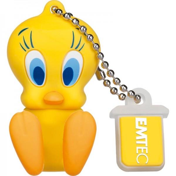 MEMORY DRIVE FLASH USB2 16GB/L100 TWEETY ECMMD16GL100 EMTEC