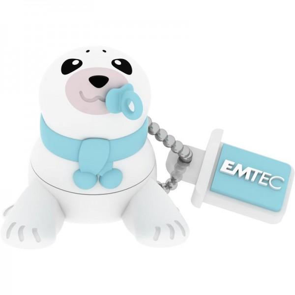 MEMORY DRIVE FLASH USB2 16GB/BABY SEAL ECMMD16GM334 EMTEC