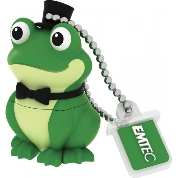 MEMORY DRIVE FLASH USB2 16GB/M339 FROG ECMMD16GM339 EMTEC