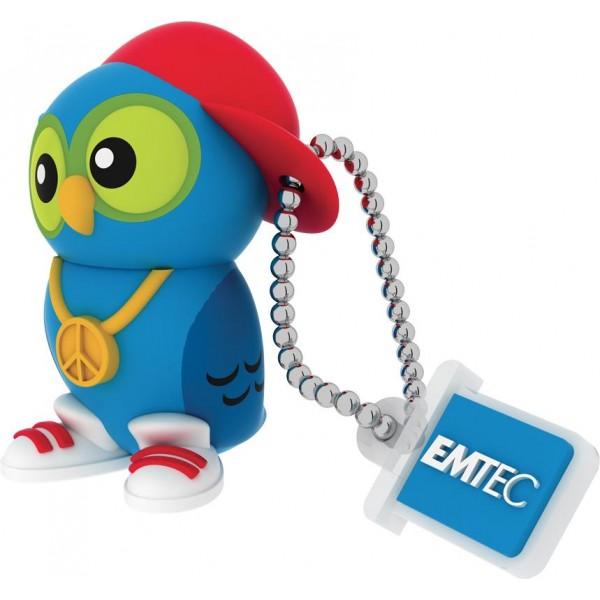 MEMORY DRIVE FLASH USB2 16GB/M341 DJ OWL ECMMD16GM341 EMTEC