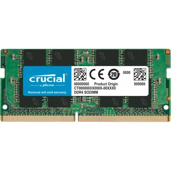 NB MEMORY 8GB PC25600 DDR4/SO CT8G4SFRA32A CRUCIAL