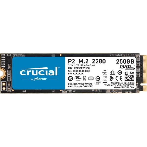 SSD M.2 2280 250GB/P2 CT250P2SSD8 CRUCIAL
