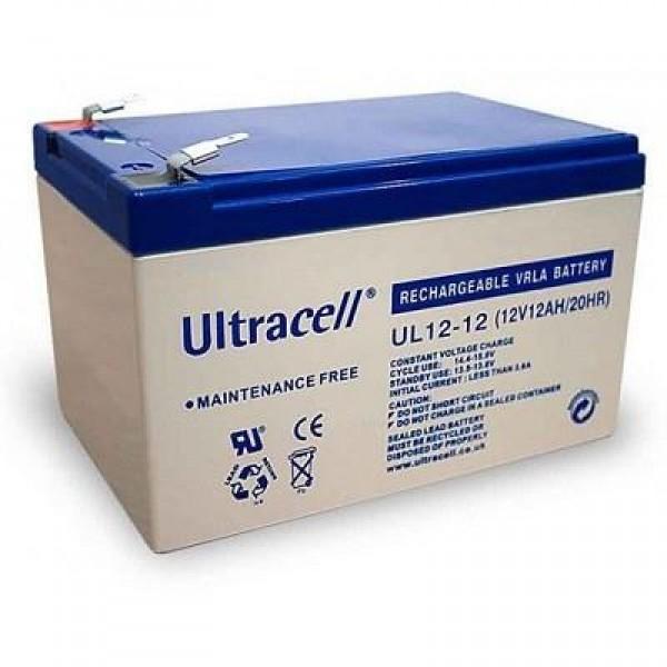 BATTERY 12V 12AH/UL12-12 ULTRACELL