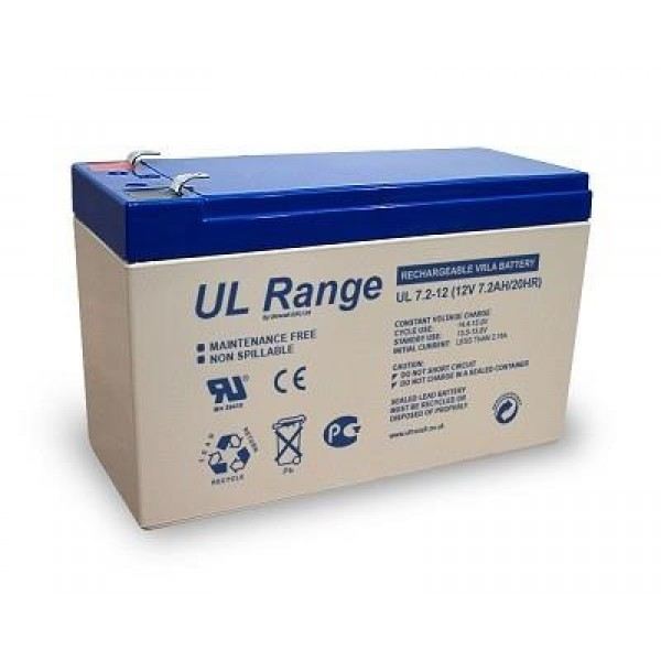 BATTERY 12V 7.2AH/UL7.2-12 ULTRACELL