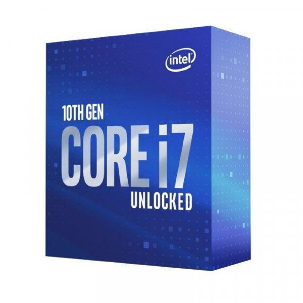 CPU CORE I7-10700KF S1200 BOX/3.8G BX8070110700KF S RH74 IN