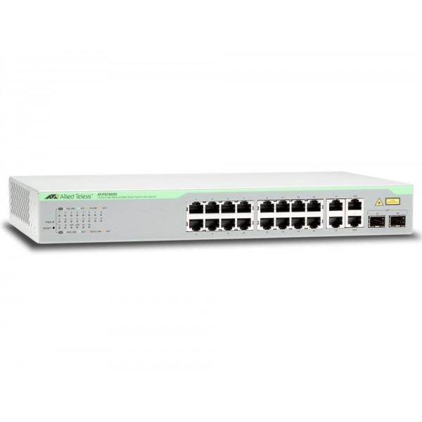 NET SWITCH 16PORT 10/100M TX/WEBSMART AT-FS750/20-50 ALLIED