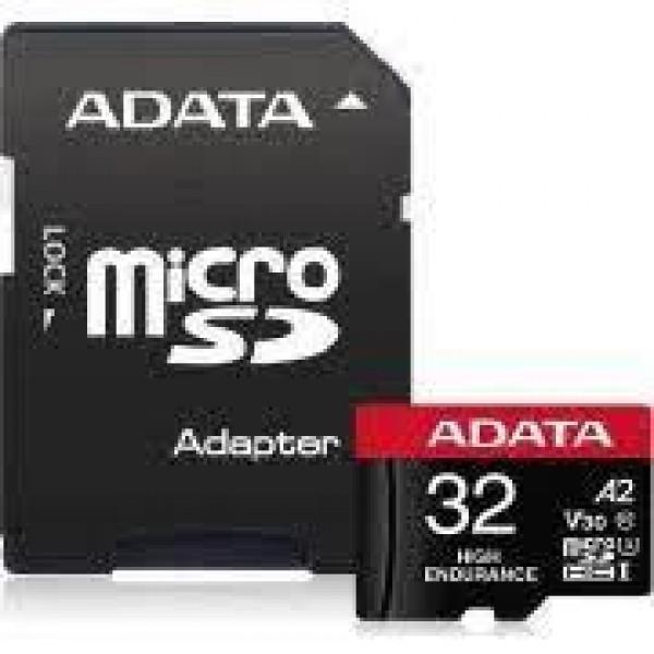 MEMORY MICRO SDHC 32GB W/ADAP./AUSDH32GUI3V30SHA2-RA1 ADATA
