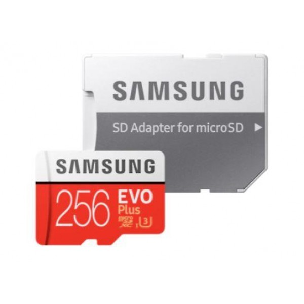 MEMORY MICRO SDXC EVO+ 256GB/C10 W/A MB-MC256HA/EU SAMSUNG