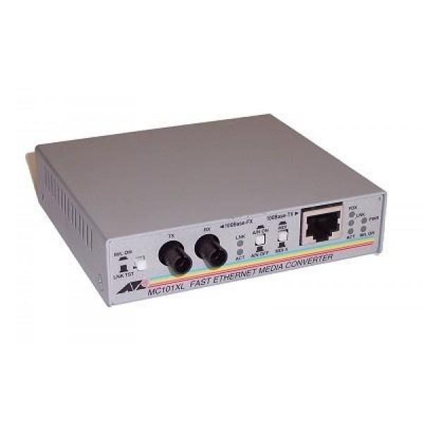 NET CONVERTER 100M FX-TX/ST MM AT-MC101XL-60 ALLIED