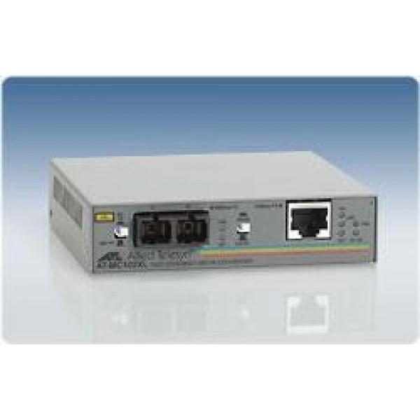 NET CONVERTER 100M FX-TX/SC MM AT-MC102XL-60 ALLIED