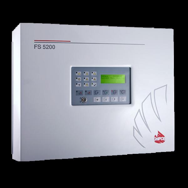 Centrala de incendiu conventionala  - 8 zone extensibila la 32 - UNIPOS FS5200