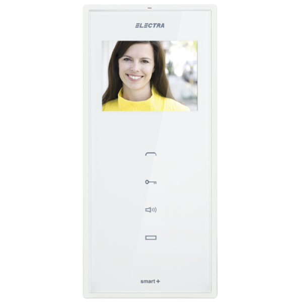 Post interior video 3,5'' smart+ ELECTRA VTM.3S402.ELW04