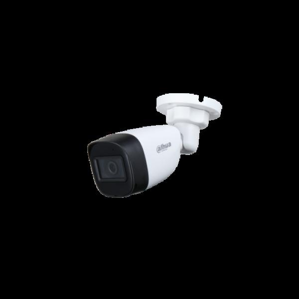 Camera de supraveghere HDCVI Bullet, 5MP, IR 30m, 2.8mm, Dahua HAC-HFW1500C-0280B-S2