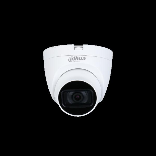 Camera de supraveghere HDCVI Turret, 5MP, IR 25m, 2.8mm, Dahua HAC-HDW1500TRQ-0280B-S2