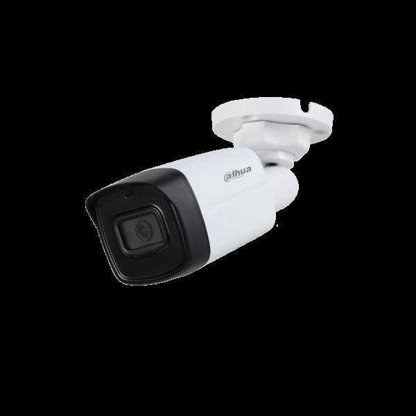 Camera de supraveghere HDCVI Bullet, 5MP, IR 80m, 3.6mm, Dahua HAC-HFW1500TL-A-0360B-S2