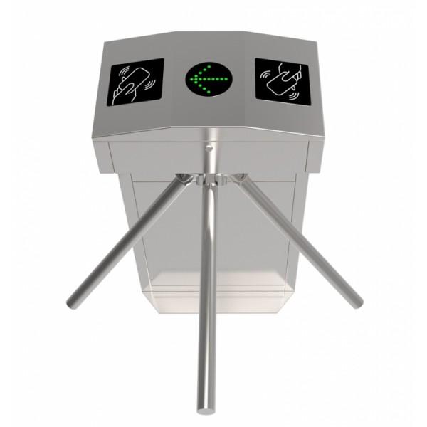 Turnichet bidirectional din inox, cu 3 brate, AVAX PM5000