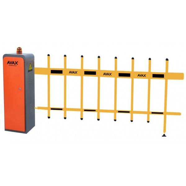 Kit bariera acces auto electromecanica, brat tip gard de 5 metri, AVAX
