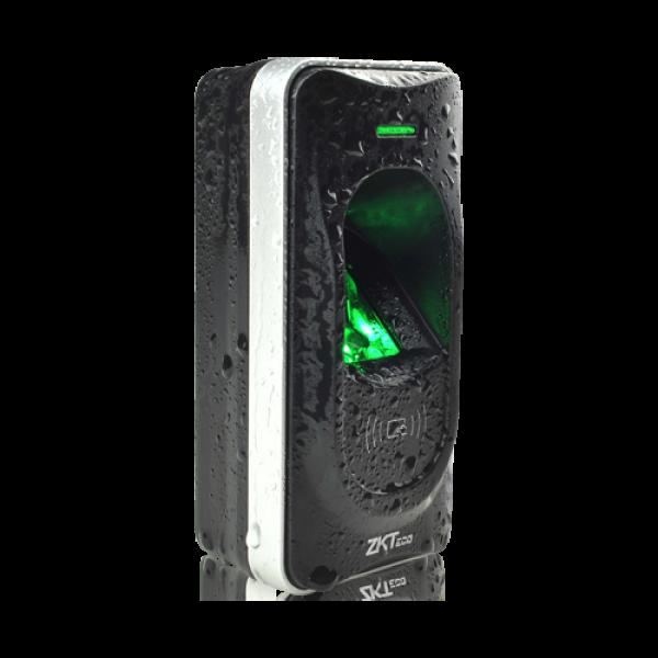 Cititor de amprenta si proximitate RFID MIFARE 13.65Mhz, IP65 - ZKTeco ACC-ER-FR1200N-2