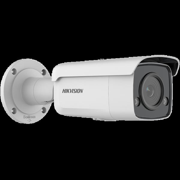 Camera de supraveghere IP Bullet, 4MP, IR , 4mm, Lumina alba 60m, ColorVU, VCA, Hikvision DS-2CD2T47G2-L-4mm